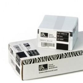 Karty białe Zebra 104523-111