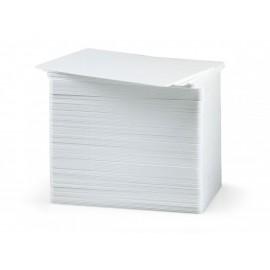 Karta plastikowa biała