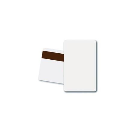 Karta magnetyczna HiCo biała