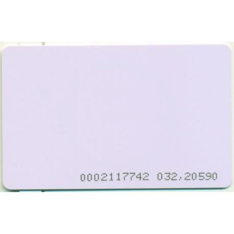 Karta zbliżeniowa UNIQUE 125 kHz z numerem