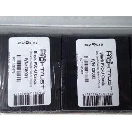 Karty czarne cenówki Evolis C8001